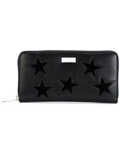 кошелек на молнии со звездами Stella McCartney