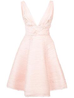 платье с асимметричным подолом Marchesa Notte