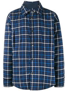 куртка-рубашка в клетку Balenciaga
