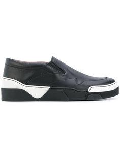 кроссовки с геометрическими панелями Givenchy