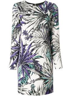 платье с цветочным принтом Fausto Puglisi