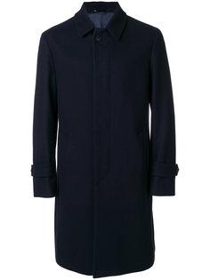 пальто с потайной застежкой на пуговицах Hevo