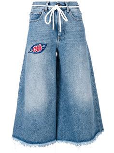 джинсы капри Off-White