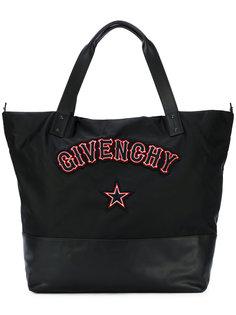 сумка на плечо с заплатками в готическом стиле Givenchy