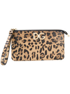 клатч на молнии Dolce & Gabbana