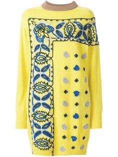 трикотажное платье Sacai