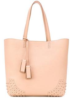 сумка-шоппер с тиснеными деталями Tods Tod'S