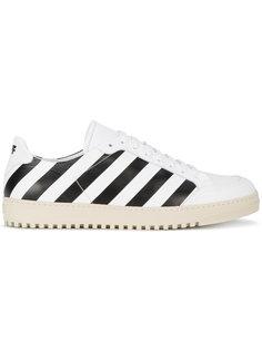 кроссовки с диагональными полосками Off-White