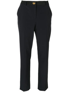 брюки на застежке-защелке Gancino Salvatore Ferragamo