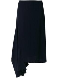 асимметричная юбка миди  Marni