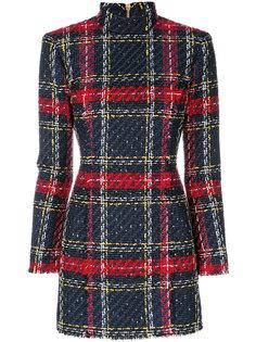 твидовое платье Balmain