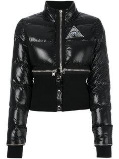 пуховик с эластичным поясом Givenchy