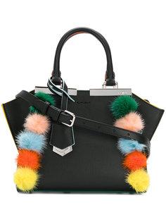 мини-сумка 3Jours с помпонами Fendi
