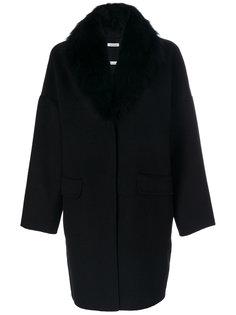 пальто с меховой подкладкой  P.A.R.O.S.H.
