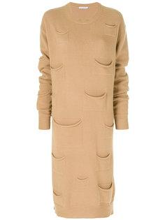 платье с карманами  JW Anderson
