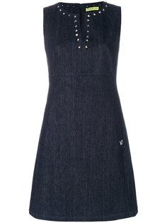 платье с заклепками Versace Jeans