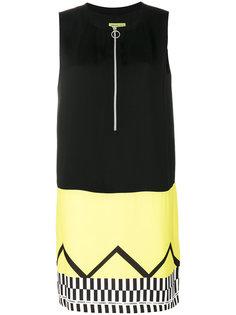 платье дизайна колор-блок Versace Jeans