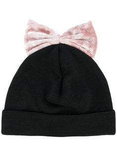 шапка с бархатным бантом Federica Moretti