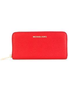 кошелек на молнии Michael Michael Kors