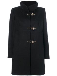 пальто с застежкой-тогл Fay