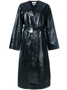 длинное пальто Loewe