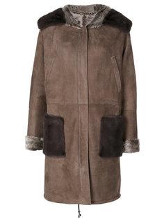однобортное пальто Manzoni 24