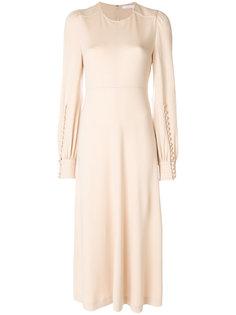 платье-миди с длинными рукавами Chloé