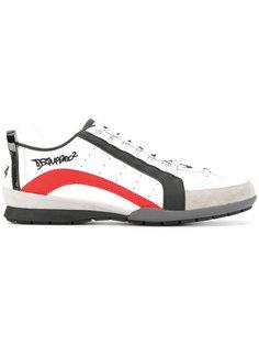 кроссовки на шнуровке Dsquared2
