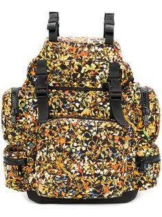 рюкзак с цветочным принтом Dsquared2