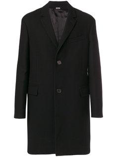 однобортное пальто Lanvin