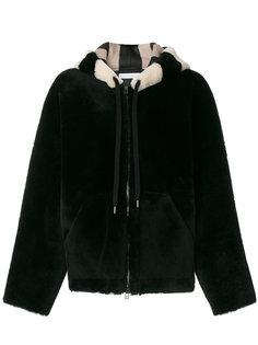 пальто с меховой отделкой  Inès & Maréchal