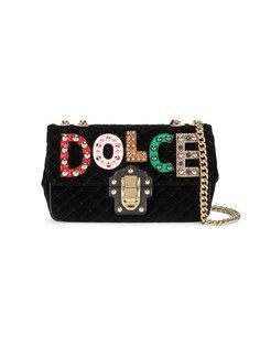 стеганая сумка Lucia Dolce & Gabbana