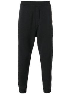 спортивные брюки с вышитым логотипом Dsquared2