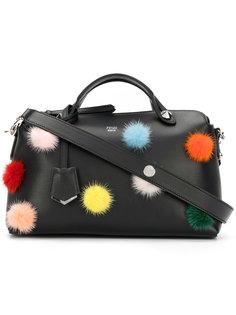 сумка-тоут с помпонами By The Way  Fendi