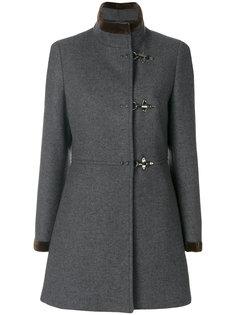 классическое приталенное пальто  Fay