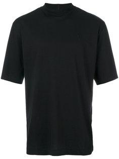футболка с воротником-стойкой Études