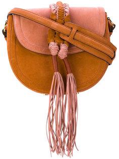 полукруглая сумка с деталью в стиле косички Altuzarra