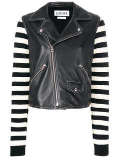 байкерская куртка Loewe
