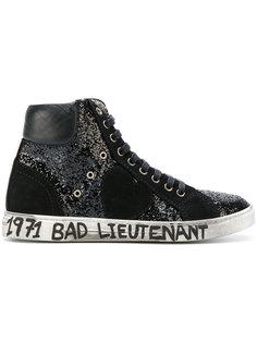 блестящие хайтопы Bad Lieutenant Saint Laurent