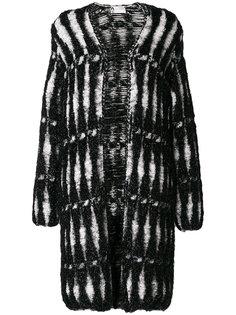 пальто металлик  Lanvin