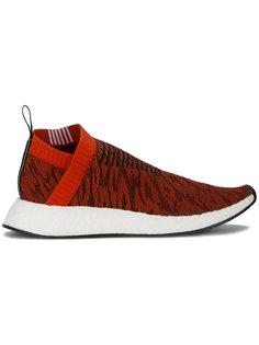 трикотажные кроссовки с леопардовым принтом NMD CS2 Adidas