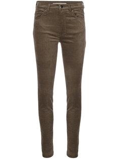 облегающие бархатные брюки D.Exterior