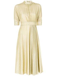 платье с высоким воротником Prada
