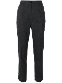 укороченные брюки со складками  Dolce & Gabbana