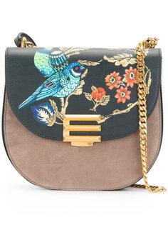 сумка на плечо с ориентальным рисунком Etro