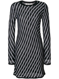 приталенное платье с вышивкой  Dvf Diane Von Furstenberg