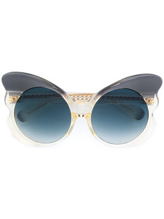 солнцезащитные очки в виде бабочки 143 C2  Linda Farrow