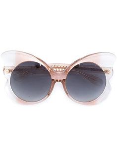 солнцезащитные очки с дизайном в виде бабочки 143 C3 Linda Farrow