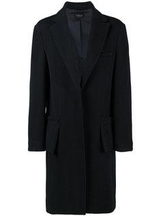 однобортное пальто Gambit Curieux