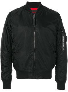 куртка-бомбер на молнии Marcelo Burlon County Of Milan